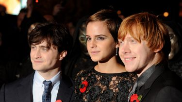 De cast van Harry Potter