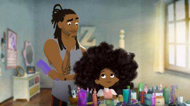 beeld uit de film Hair Love