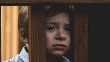 angstig kind zorgen